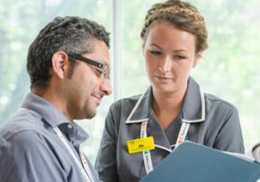Work experience stories: nurse-led research and biomarkers