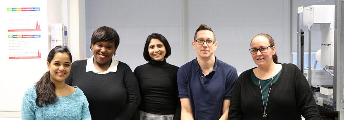The Genomics Research PLatform team in 2019