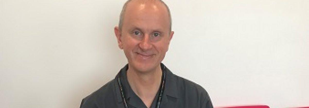 Krzysztof Rutkowski, one of our research nurses