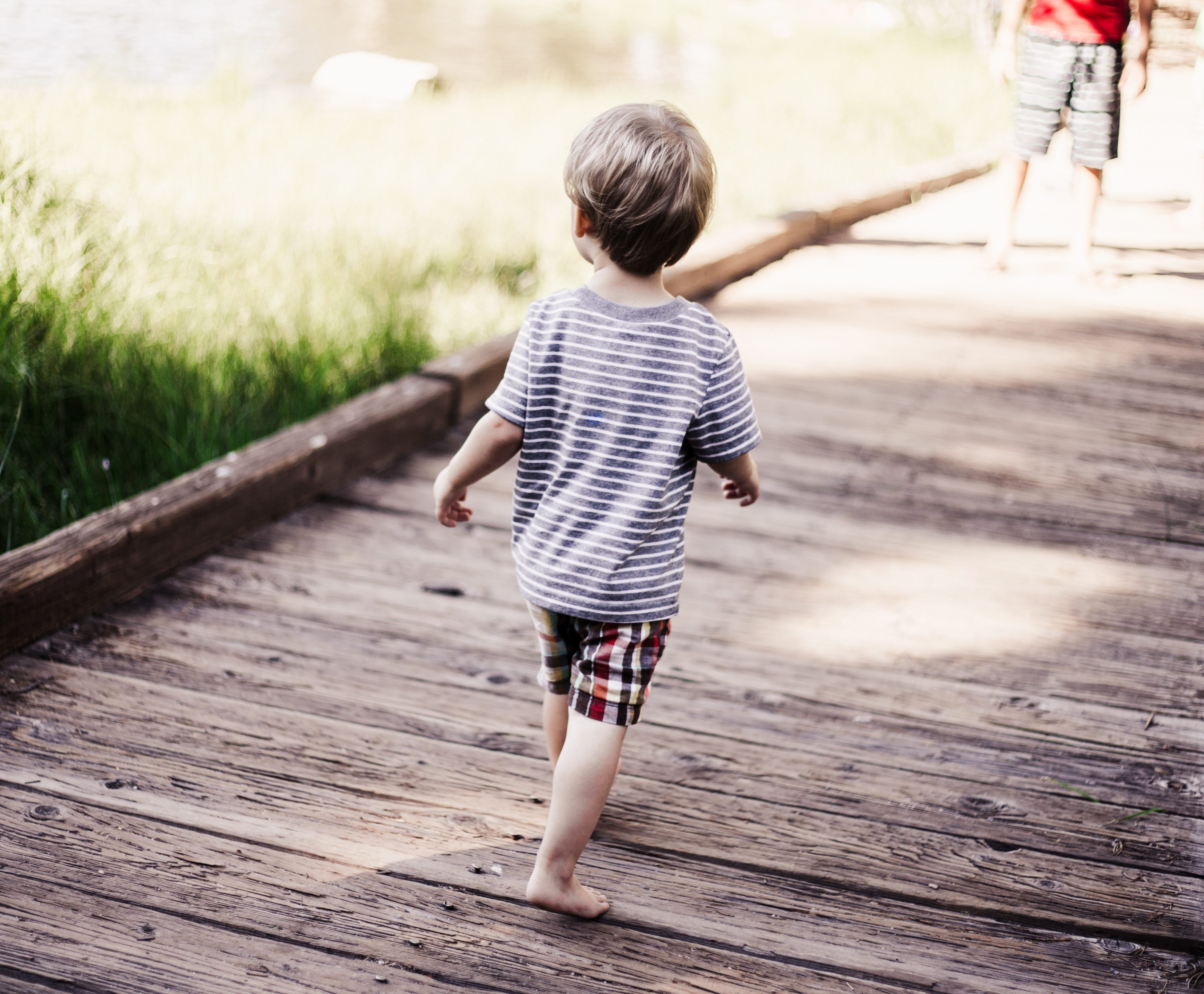 Child walking news