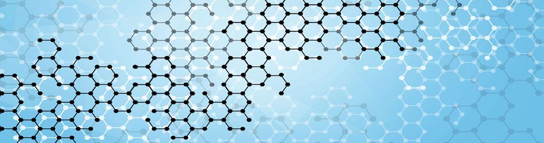 molecule blue
