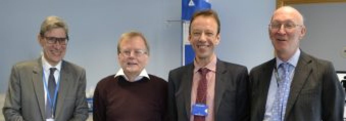 VIP visit with Prof Phil Chowienczyk and Prof Graham Lord