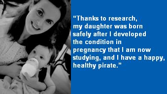 PhD scholarship - Caroline's story