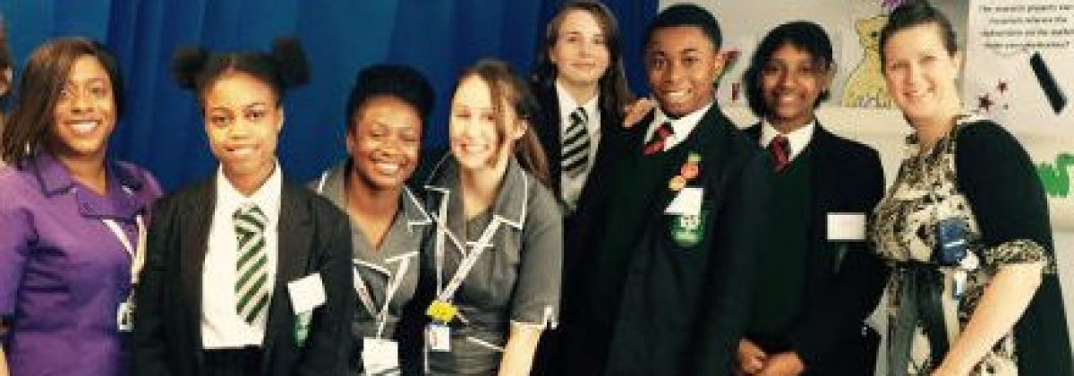 Kids and nurses in a ward International Clinical Trials Day 440