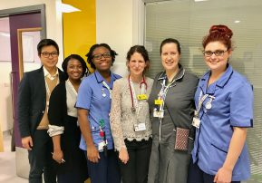 CAP-IT team at Evelina London named top for patient recruitment
