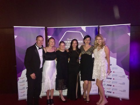 Picture of Cancer trials team at OHCT Awards 2018