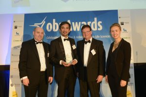OBN Outstanding Achievement Award - GammaDelta