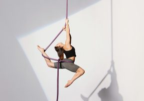 Circus performer still flying high thanks to clinical trial 'unsung heroes'