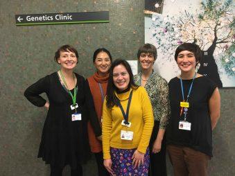 Genetics research team