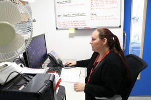 Hollie, the Genomics Platform's Administrative Assistant