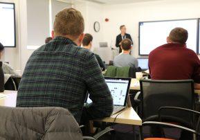 Genomics workshop attendees get into the Flow