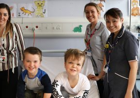 Our children's research team take over