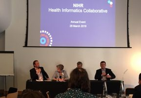 Our staff join NIHR Health Informatics Collaborative Conference