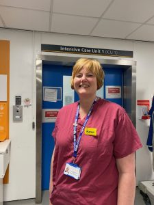 research nurse Karen Wilson